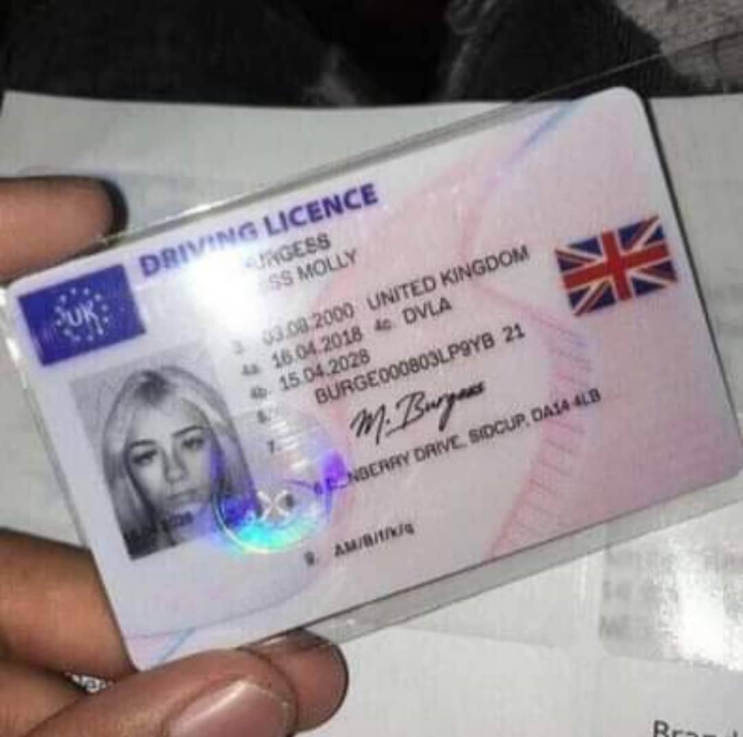 Buy-off Original driving licence in UK as a foreigner