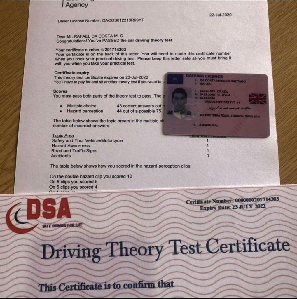 Buy genuine driver's license